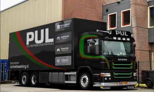 Pul vloerbewerking Scania
