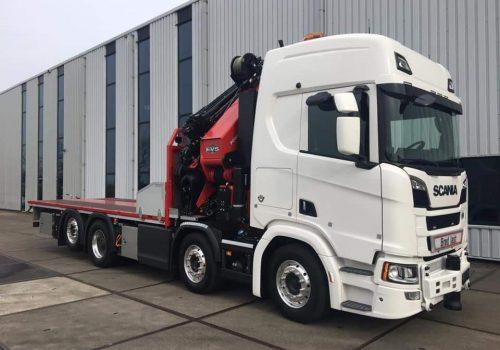 Jong gebruikte Scania van Heylen & Co